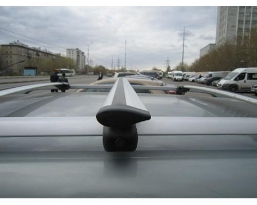 Багажник ЕВРО с секретками с крыловидными дугами на рейлинги