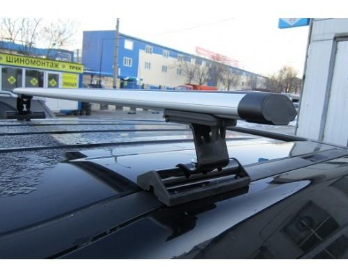 Багажник Интер C-15 в штатные места с аэродинамическими дугами