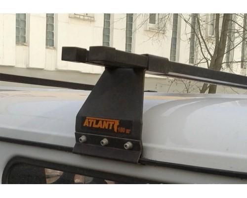 Багажник Atlant на водостоки для ГАЗ / УАЗ (высота крыши до 19 см.)