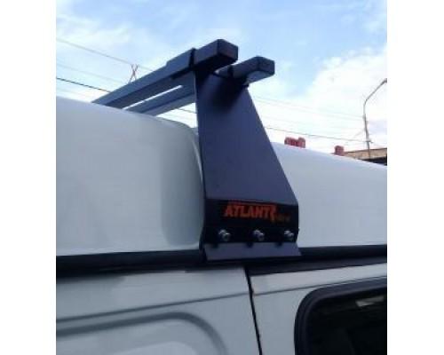Багажник Atlant на водостоки для ГАЗ / УАЗ (высота крыши до 30 см.)