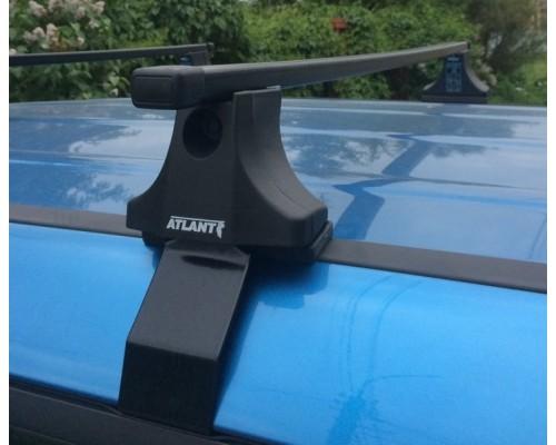Багажник Atlant со стальными прямоугольными дугами для Lada 2110/ 2112