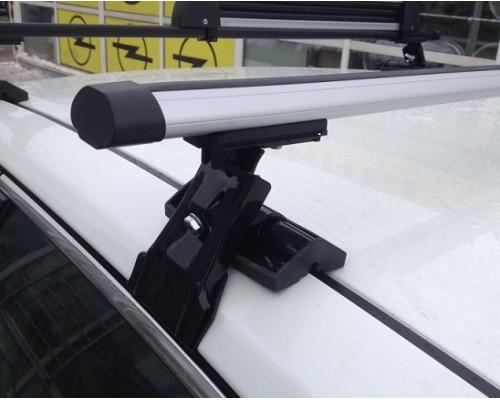 Багажник Интер Д-1 за дверной проем с аэродинамическими дугами