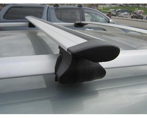 Багажник ФАВОРИТ с крыловидными дугами на рейлинги