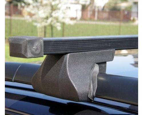 Багажник ФАВОРИТ со стальными дугами на рейлинги