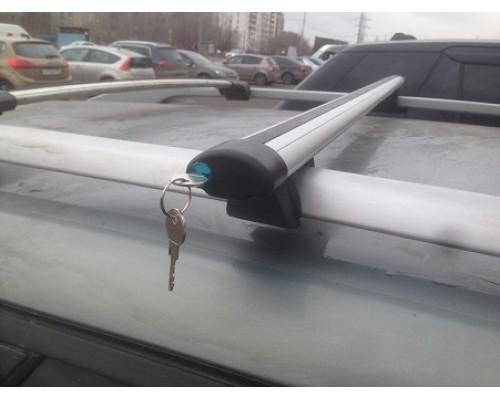 Багажник КРЕПЫШ с аэродинамическими дугами с замками на рейлинги