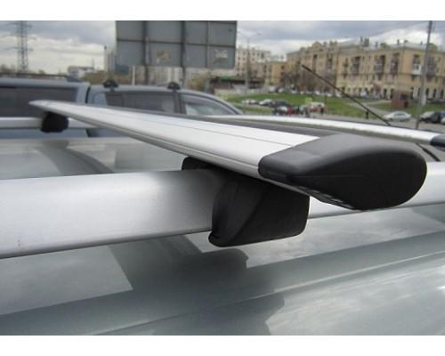 Багажник КРЕПЫШ с крыловидными дугами на рейлинги
