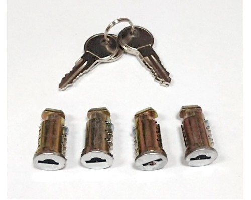 Комплект личинок с ключами Люкс