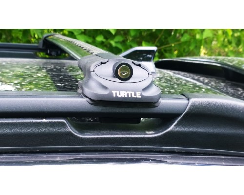 Багажник Turtle Can Carry AIR 1 на рейлинги черный