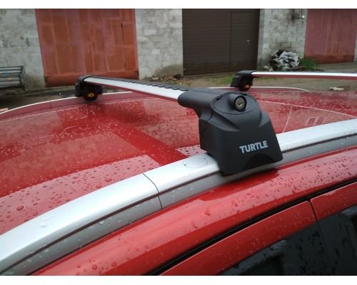 Багажник Turtle Can Carry AIR 2 на интегрированные рейлинги серебристый