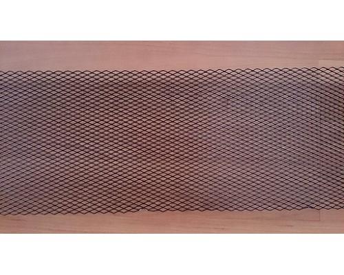 Сетка для защиты радиатора (алюминий) 250х1000мм черная крупная