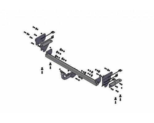 Фаркоп Трейлер для Nissan Qashqai 2006-2014, 2014-2017 (кроме Qashqai +2)