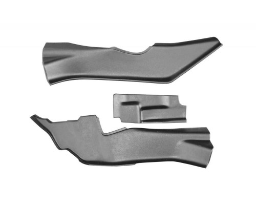Накладки на ковролин тоннельные (ABS) ПТ Групп для Nissan Terrano 2014-