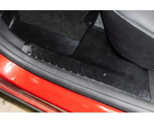 Накладки на ковролин задние Yuago АртФорм для Renault Arkana
