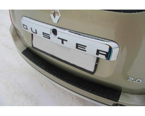 Накладка на задний бампер Yuago АртФорм для Renault Duster 2012- (в т.ч. рестайлинг)