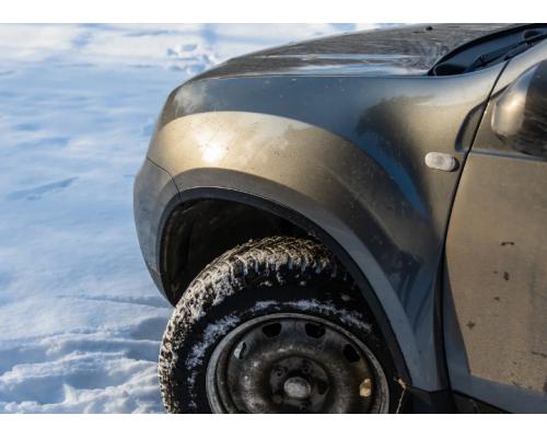 Накладки на арки Yuago АртФорм для Renault Duster 2012-2015