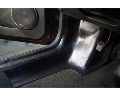 Накладки на ковролин передние Yuago АртФорм для Lada Granta