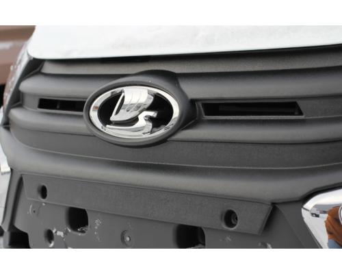 Заглушка решетки радиатора зимняя Yuago АртФорм для Lada Granta FL рестайлинг 2018-