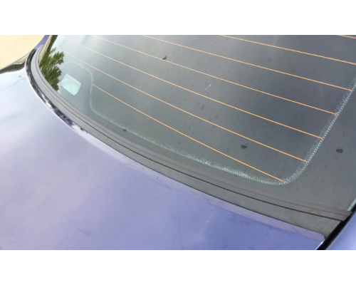 Накладка в проём заднего стекла (Жабо без скотча) Yuago АртФорм для Lada Granta седан