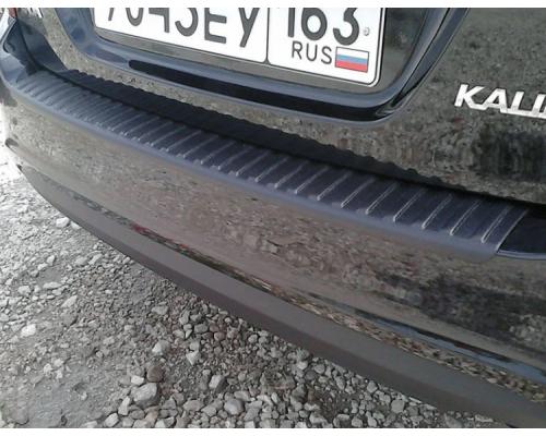 Накладка на задний бампер Yuago АртФорм для Lada Kalina/ Kalina 2 универсал