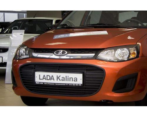 Заглушка бампера зимняя Yuago АртФорм для Lada Kalina 2 2013-