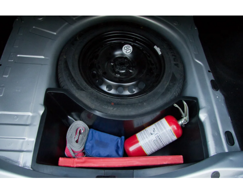Органайзер нижний в обхват запасного колеса Yuago АртФорм для Renault Logan 2014-