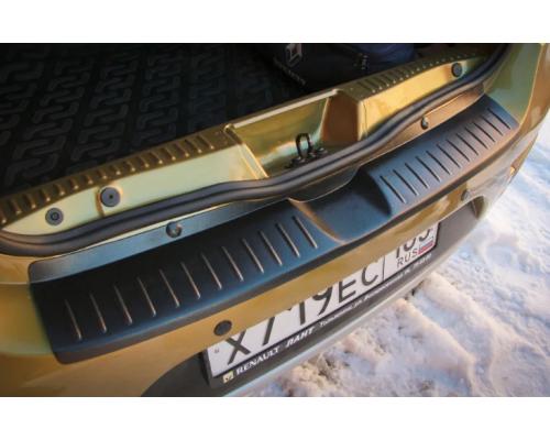 Накладка на задний бампер Yuago АртФорм для Renault Sandero Stepway 2014-