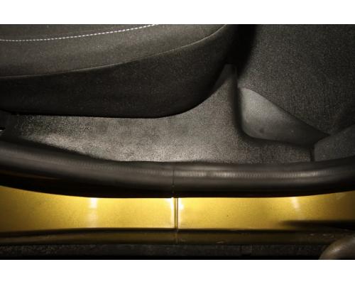 Накладки на ковролин задние Yuago АртФорм для Renault Sandero/ Sandero Stepway 2014-