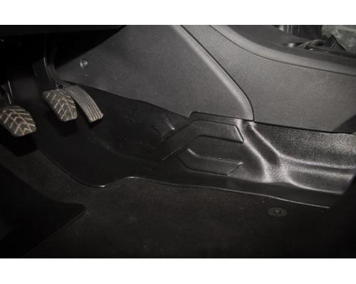 Накладка на ковролин тоннельная (АБС) Yuago АртФорм для Lada Vesta (все модификации)