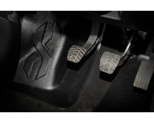 Накладка на ковролин водителя (АБС) Yuago АртФорм для Lada Vesta (все модификации)