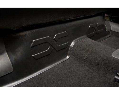 Накладка на ковролин под заднее сиденье (АБС) Yuago АртФорм для Lada Vesta (все модификации)