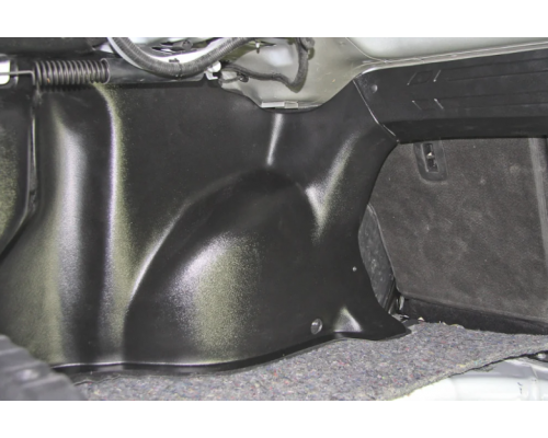 Накладки на арки в багажник Yuago АртФорм для Lada Vesta седан/ Vesta Cross седан