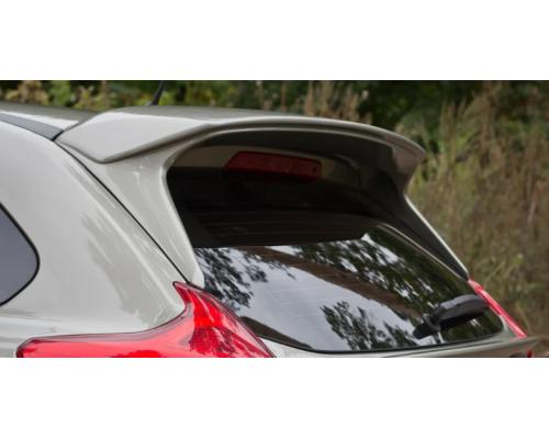 """Спойлер верхний """"Чистое стекло"""" (в цвет автомобиля) Yuago АртФорм для Lada Xray"""