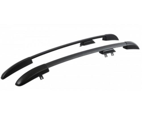Рейлинги АПС черные для Renault Logan 2014-